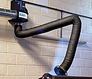 Electac Fume Extraction UK - Wall Mounting Extraction Systems with Arms